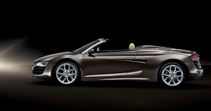 Audi R8 Spyder: po Paříži i s osmiválcem: - fotka 27