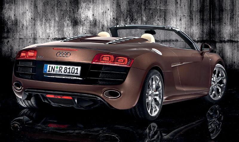 Audi R8 Spyder: po Paříži i s osmiválcem: - fotka 34