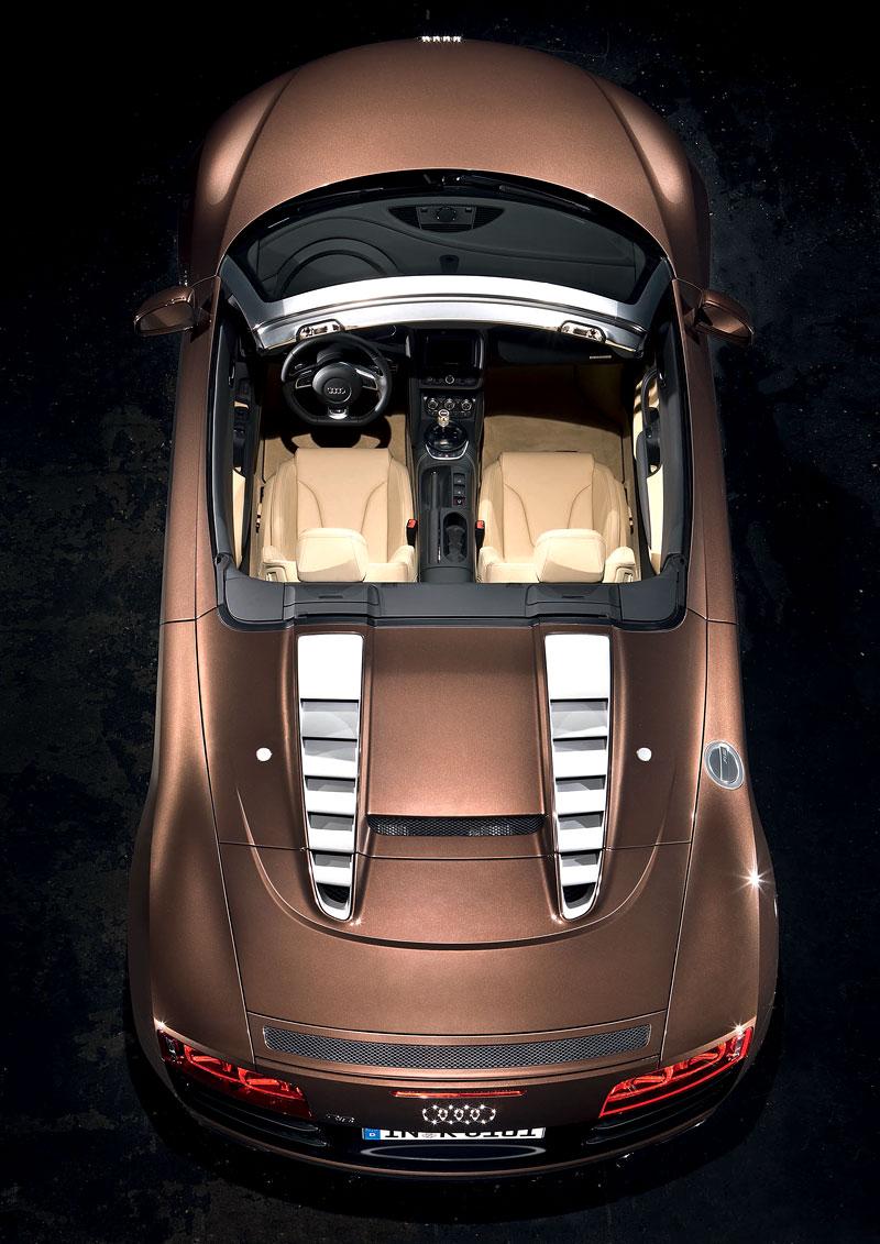 Audi R8 Spyder: po Paříži i s osmiválcem: - fotka 47