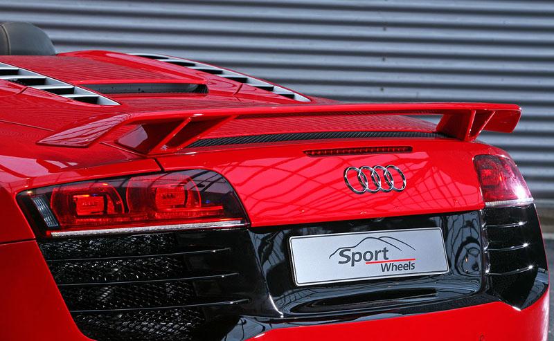 Audi R8 Spyder: vymazlená úprava od Sport Wheels: - fotka 16