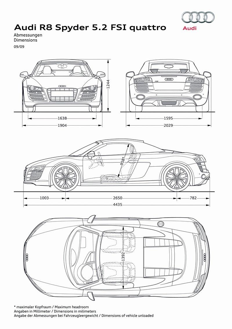 Frankfurt 2009: Audi R8 Spyder: - fotka 38