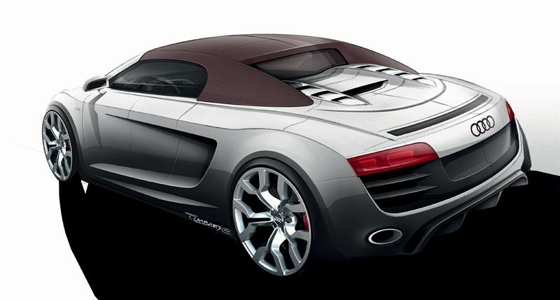 Audi R8 Spyder: po Paříži i s osmiválcem: - fotka 67