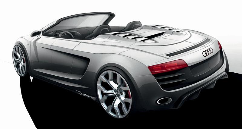 Audi R8 Spyder: po Paříži i s osmiválcem: - fotka 69