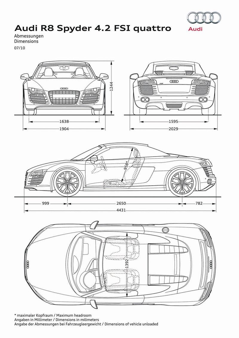 Audi R8 Spyder: po Paříži i s osmiválcem: - fotka 70