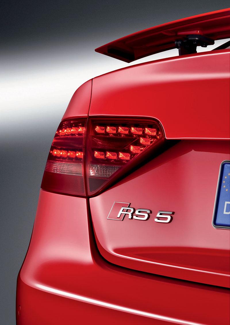 Audi RS5: velká fotogalerie: - fotka 110