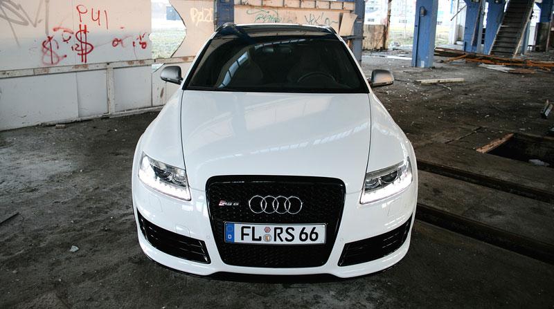 Audi RS6 Avant by AVUS: White power: - fotka 1