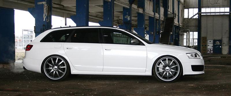 Audi RS6 Avant by AVUS: White power: - fotka 3