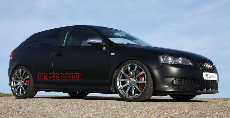 Audi S3 Black Performance Edition: 337 koní od MR Car Design: - fotka 3