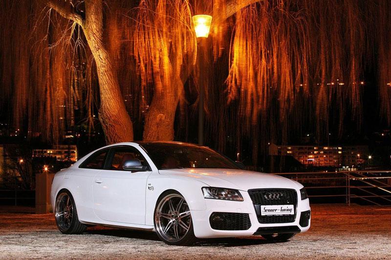 White Beast: Audi S5 po zákroku Senner Tuning: - fotka 5