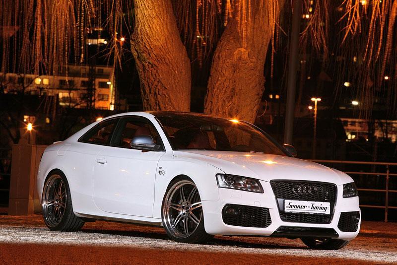 White Beast: Audi S5 po zákroku Senner Tuning: - fotka 6