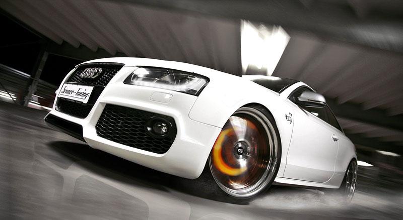 White Beast: Audi S5 po zákroku Senner Tuning: - fotka 7
