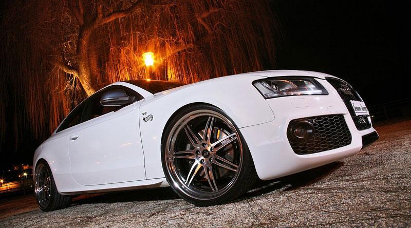White Beast: Audi S5 po zákroku Senner Tuning: - fotka 8