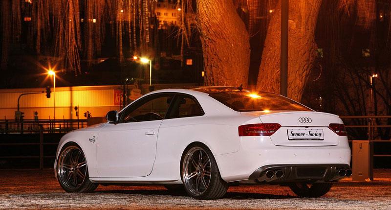 White Beast: Audi S5 po zákroku Senner Tuning: - fotka 12