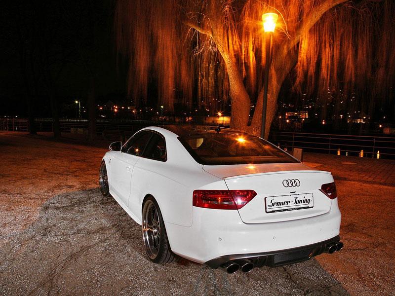 White Beast: Audi S5 po zákroku Senner Tuning: - fotka 14