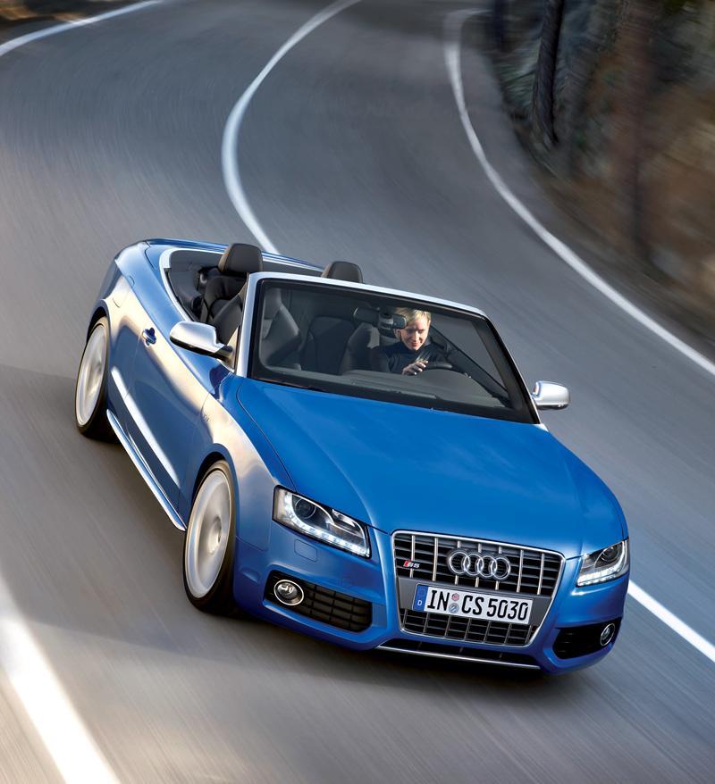 Za volantem: Audi A5 Cabriolet: - fotka 52