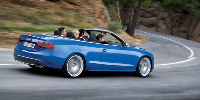 Za volantem: Audi A5 Cabriolet: - fotka 70