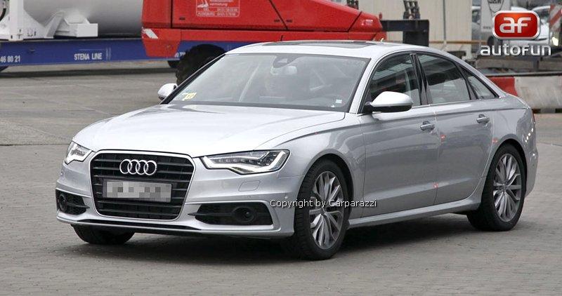 Spy Photos: Audi S6: - fotka 1