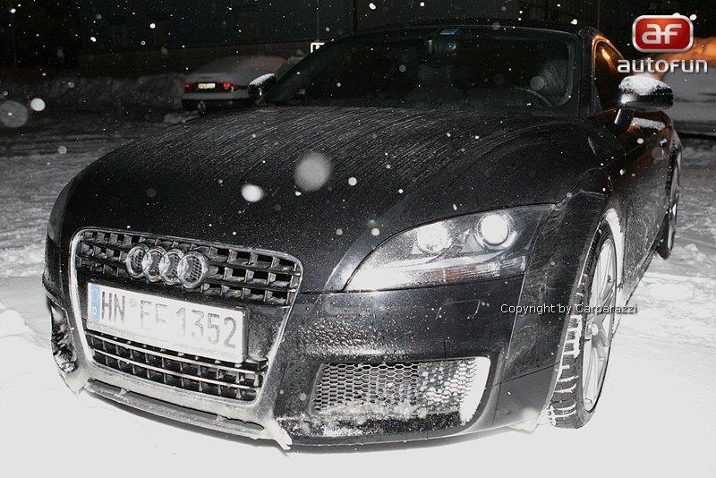 Spy Photos: Audi TT RS, nové foto: - fotka 1