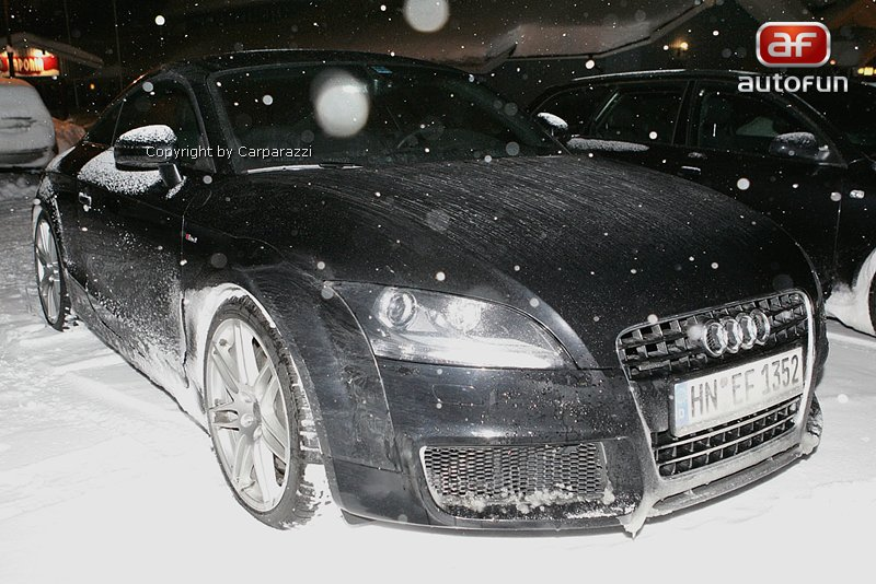 Spy Photos: Audi TT RS, nové foto: - fotka 2