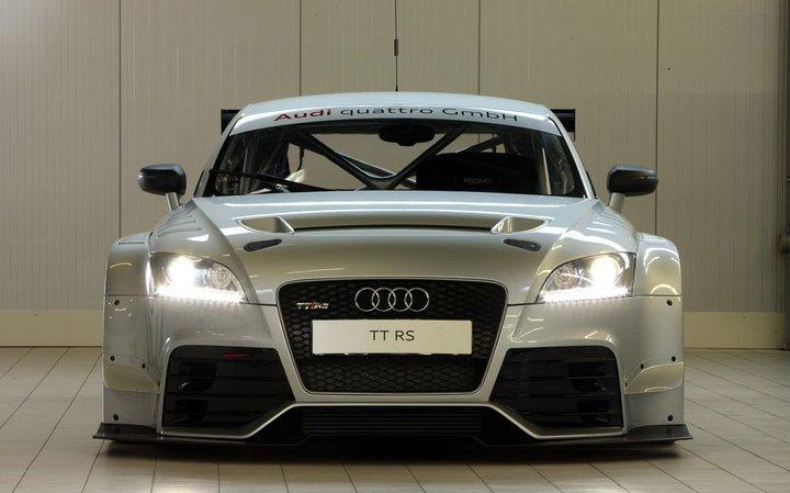 Audi TT RS Endurance: nízký, širkoký a nebezpečný: - fotka 2