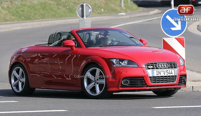 Spy Photos: Audi TT RS roadster: - fotka 1