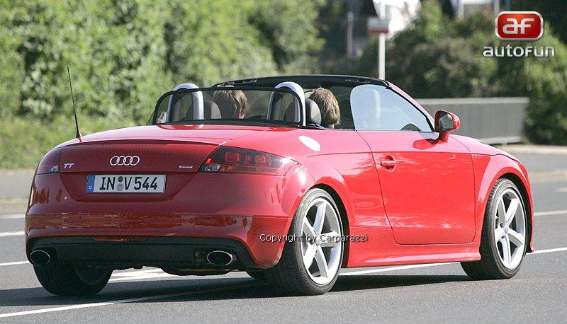 Spy Photos: Audi TT RS roadster: - fotka 4