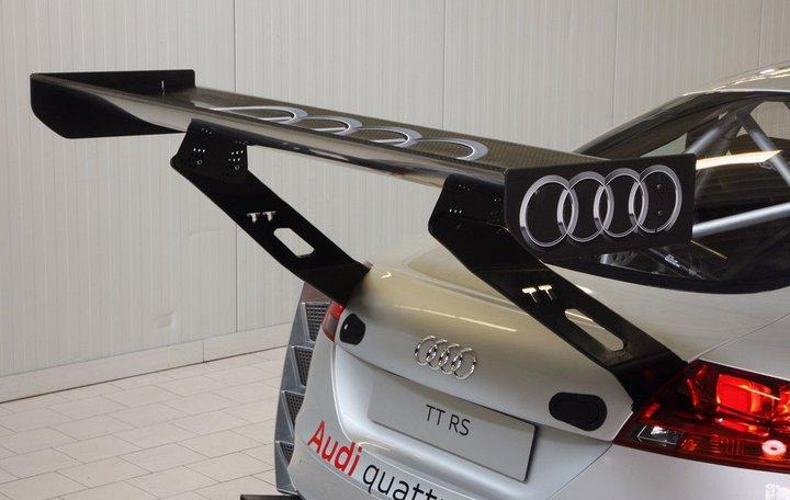 Audi TT RS Endurance: nízký, širkoký a nebezpečný: - fotka 7