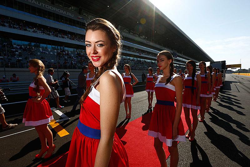 Fotografie Jiřího Křenka: Dívky z prostředí Formule 1: - fotka 26
