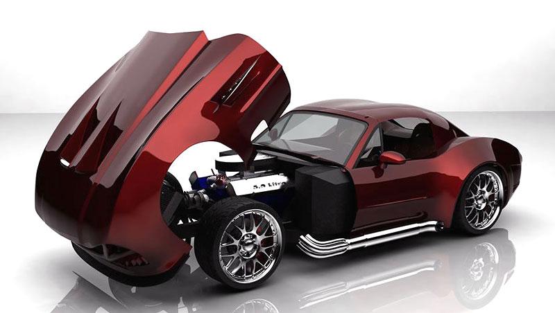 Bailey Speed Blade Concept: moderní sporťák ze staré školy: - fotka 7