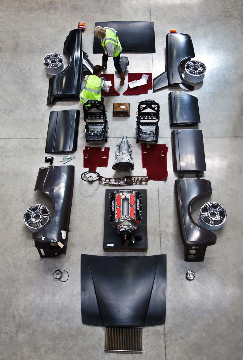 Bentley Heritage Roadshow: Prodejní výstava náhradních dílů: - fotka 1
