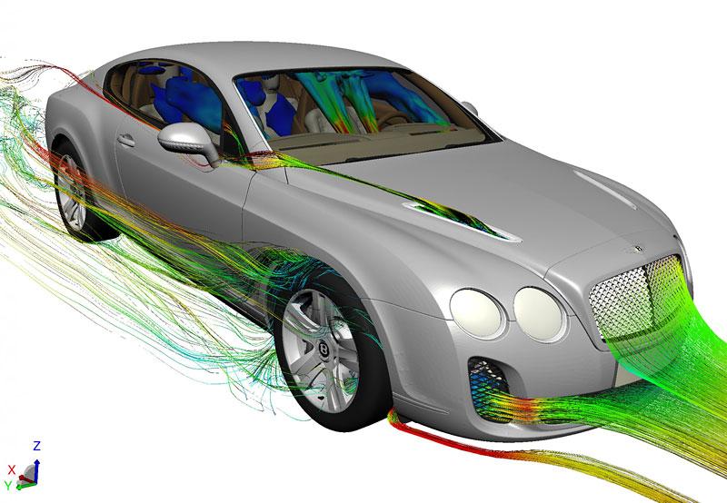 Bentley: studenti navrhují design budoucnosti: - fotka 2