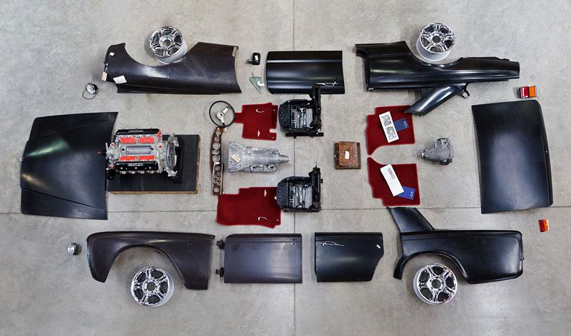 Bentley Heritage Roadshow: Prodejní výstava náhradních dílů: - fotka 2