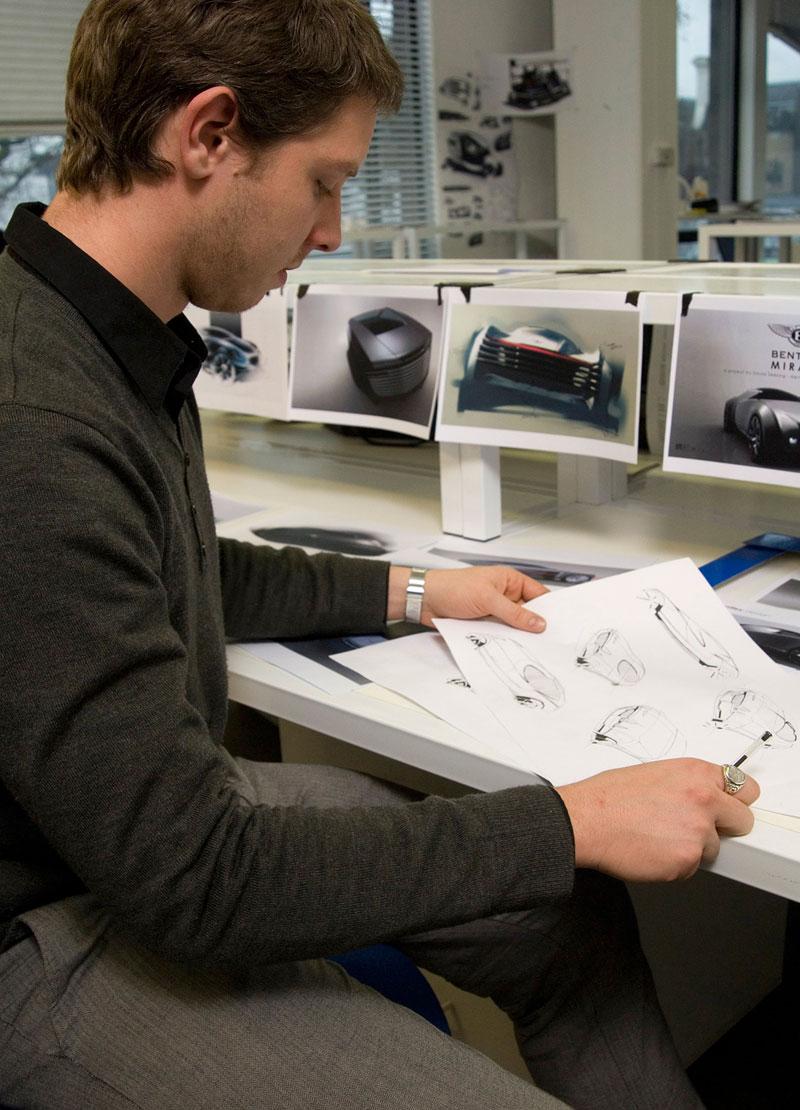 Bentley: studenti navrhují design budoucnosti: - fotka 3