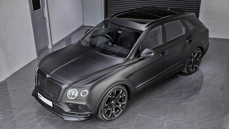 Bentley Bentayga Le Mans Edition od Kahn Design sází především na vzhled: - fotka 6