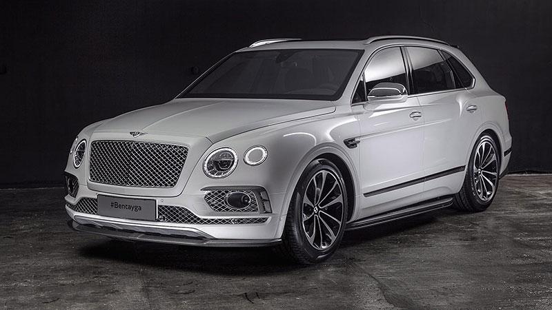 Bentley Bentayga v decentní úpravě z Ruska: - fotka 1