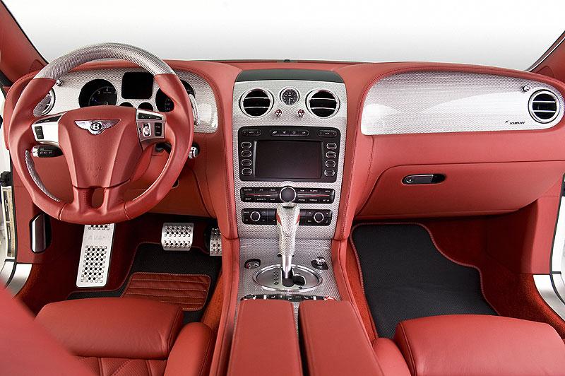 Hamann Bentley Continental GT a GT Speed: úprava designu i techniky: - fotka 1