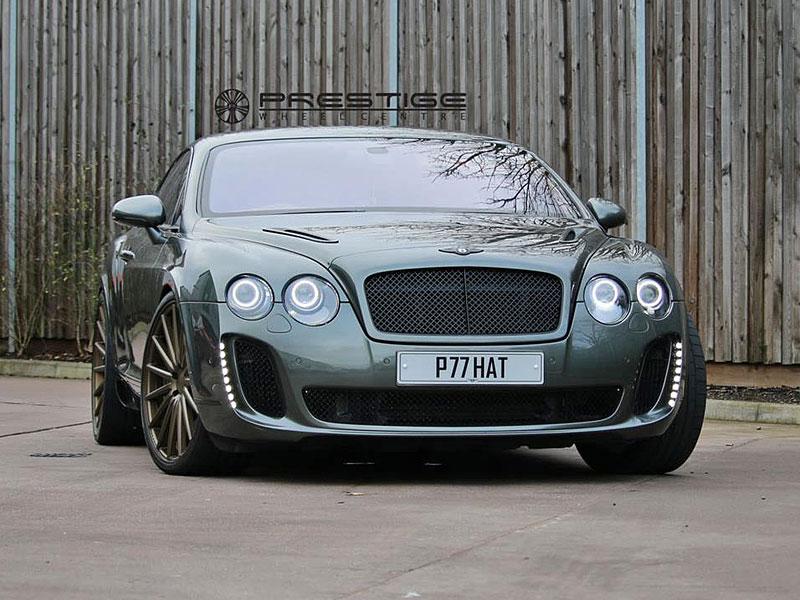 Bentley Continental GT Supersports: Nová kola stačí: - fotka 1