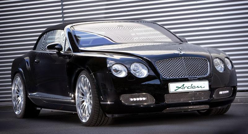 Arden vytvořil pro Bentley ... logo: - fotka 1