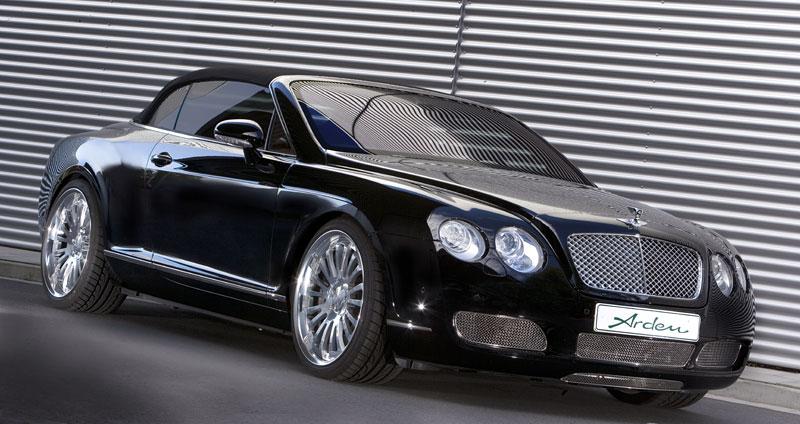 Arden vytvořil pro Bentley ... logo: - fotka 2