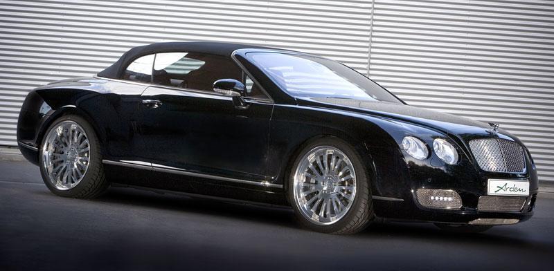 Arden vytvořil pro Bentley ... logo: - fotka 3