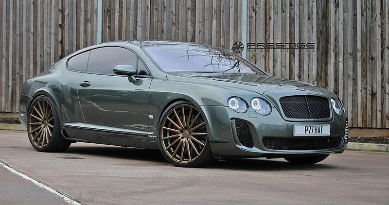 Bentley Continental GT Supersports: Nová kola stačí: - fotka 3