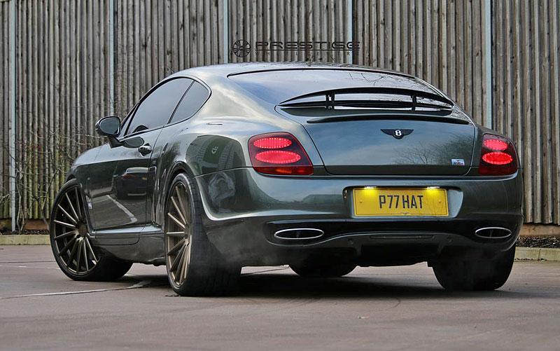 Bentley Continental GT Supersports: Nová kola stačí: - fotka 8