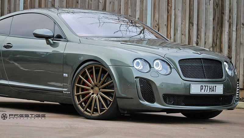 Bentley Continental GT Supersports: Nová kola stačí: - fotka 9