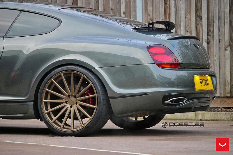 Bentley Continental GT Supersports: Nová kola stačí: - fotka 10
