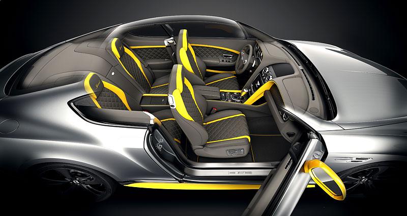 Bentley Continental GT Speed dostal pár nových koní a Black Edition: - fotka 2