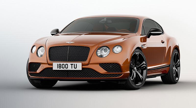 Bentley Continental GT Speed dostal pár nových koní a Black Edition: - fotka 4