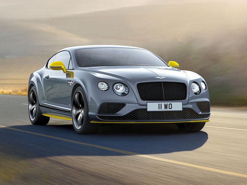 Bentley Continental GT Speed dostal pár nových koní a Black Edition: - fotka 5