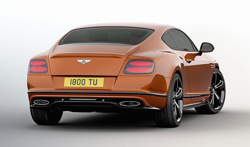 Bentley Continental GT Speed dostal pár nových koní a Black Edition: - fotka 6
