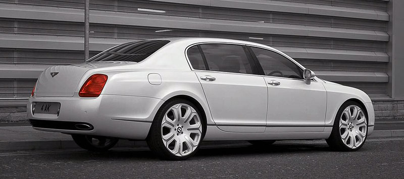 Bentley Continental Flying Spur Pearl White Edition od Project Kahn: - fotka 3