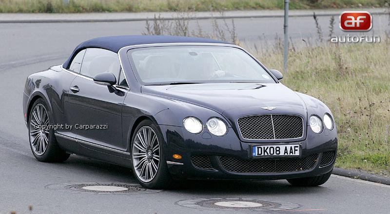 Spy Photos: Bentley Continental GTC Speed: - fotka 2